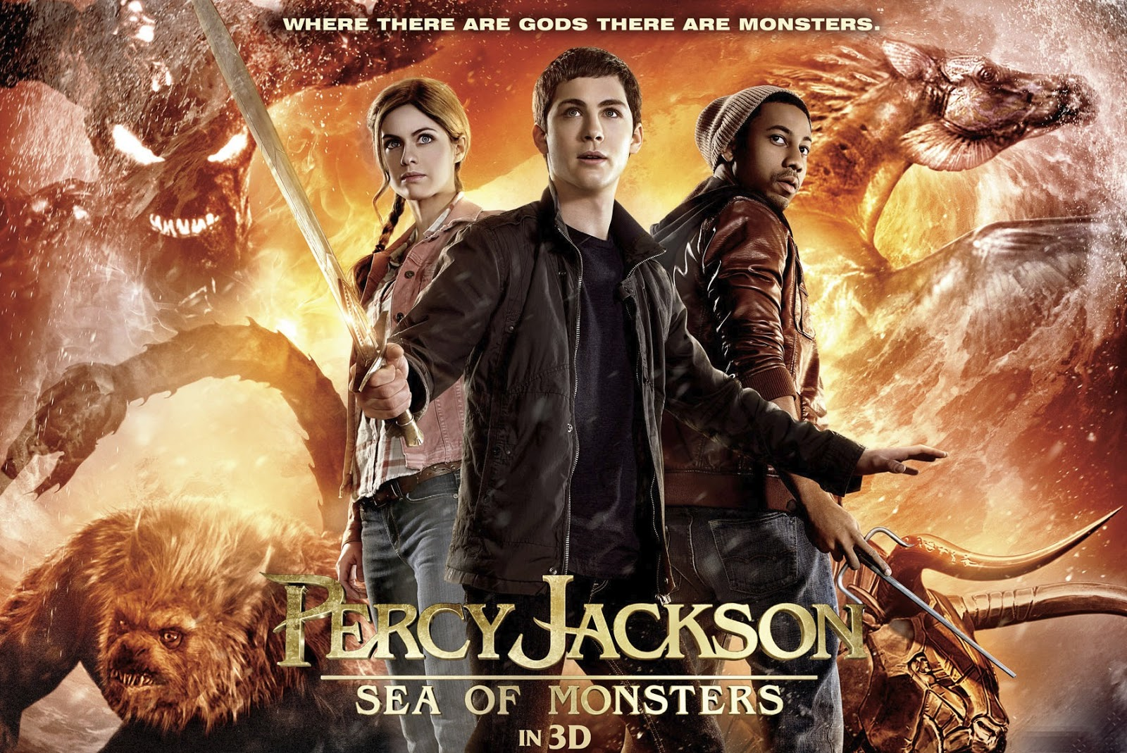 percy jackson sea of monsters book review