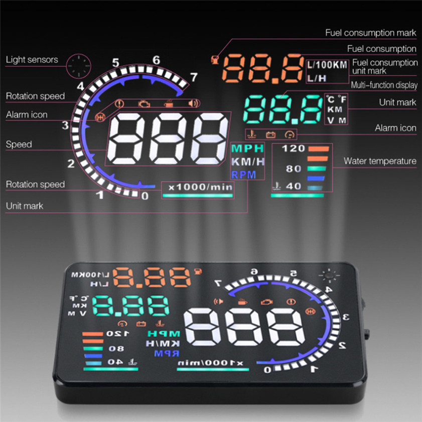 obd heads up display review