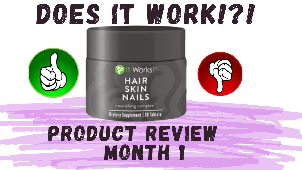 it works products hair skin nails reviews