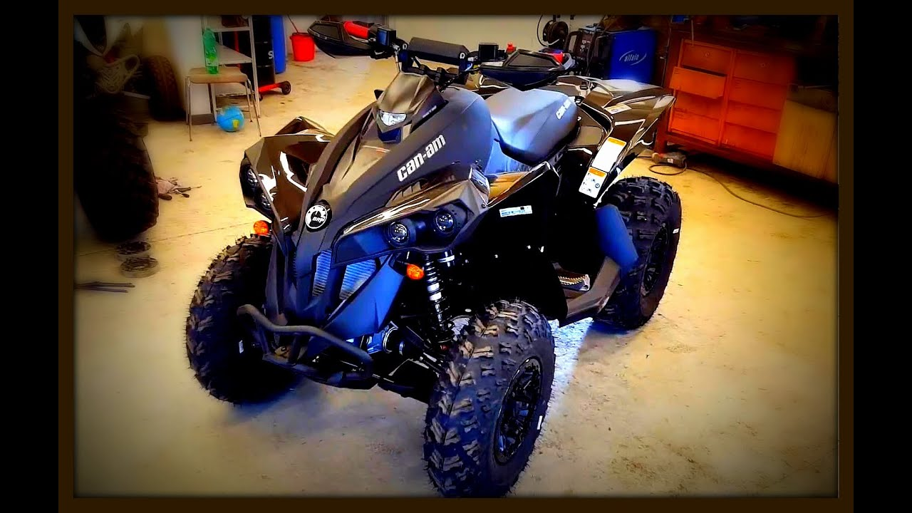 2017 can am renegade 1000 review