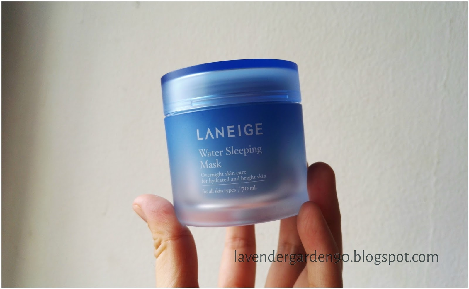 laneige water sleeping mask lavender review