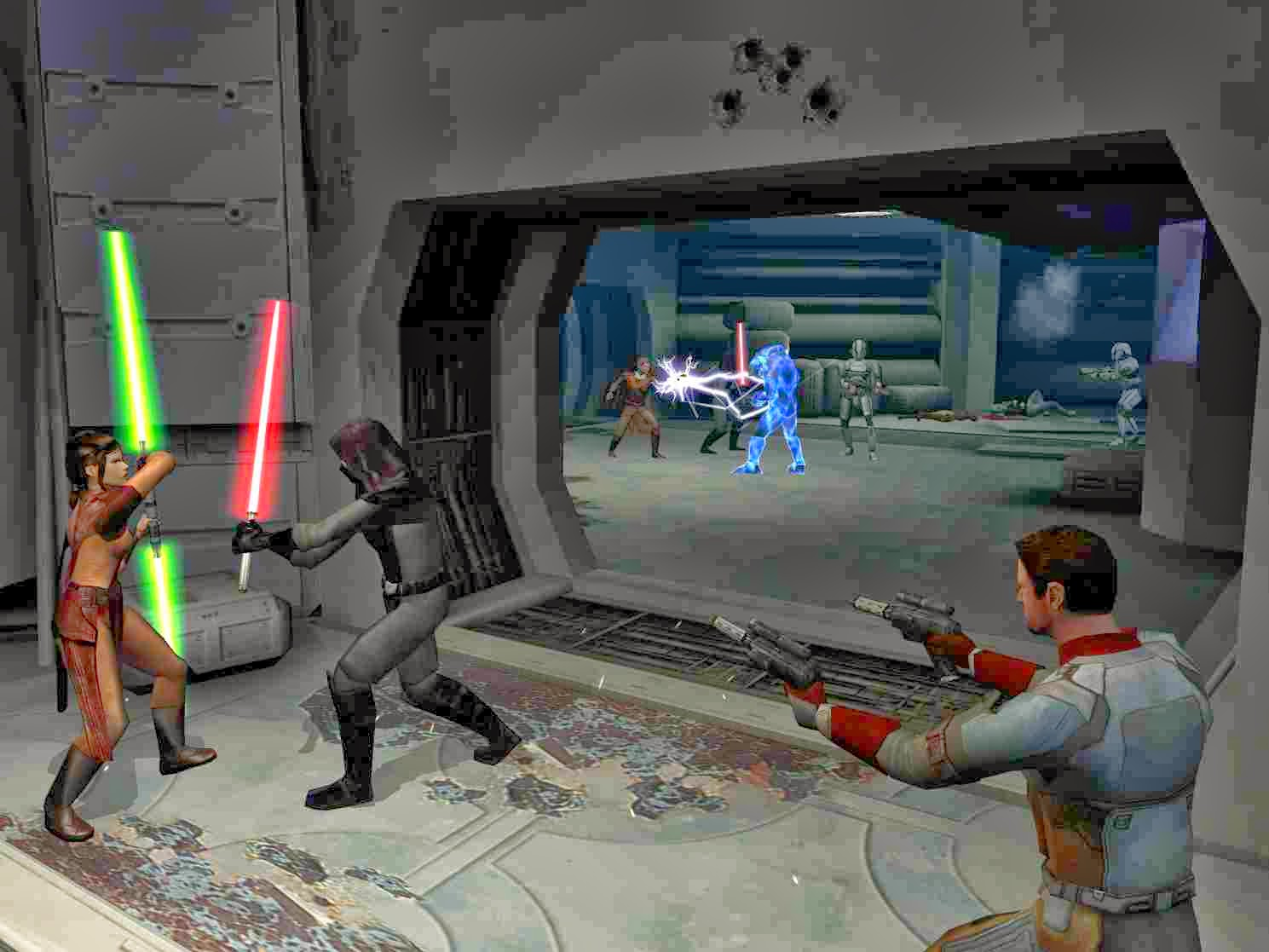 star wars knights of the old republic pc review
