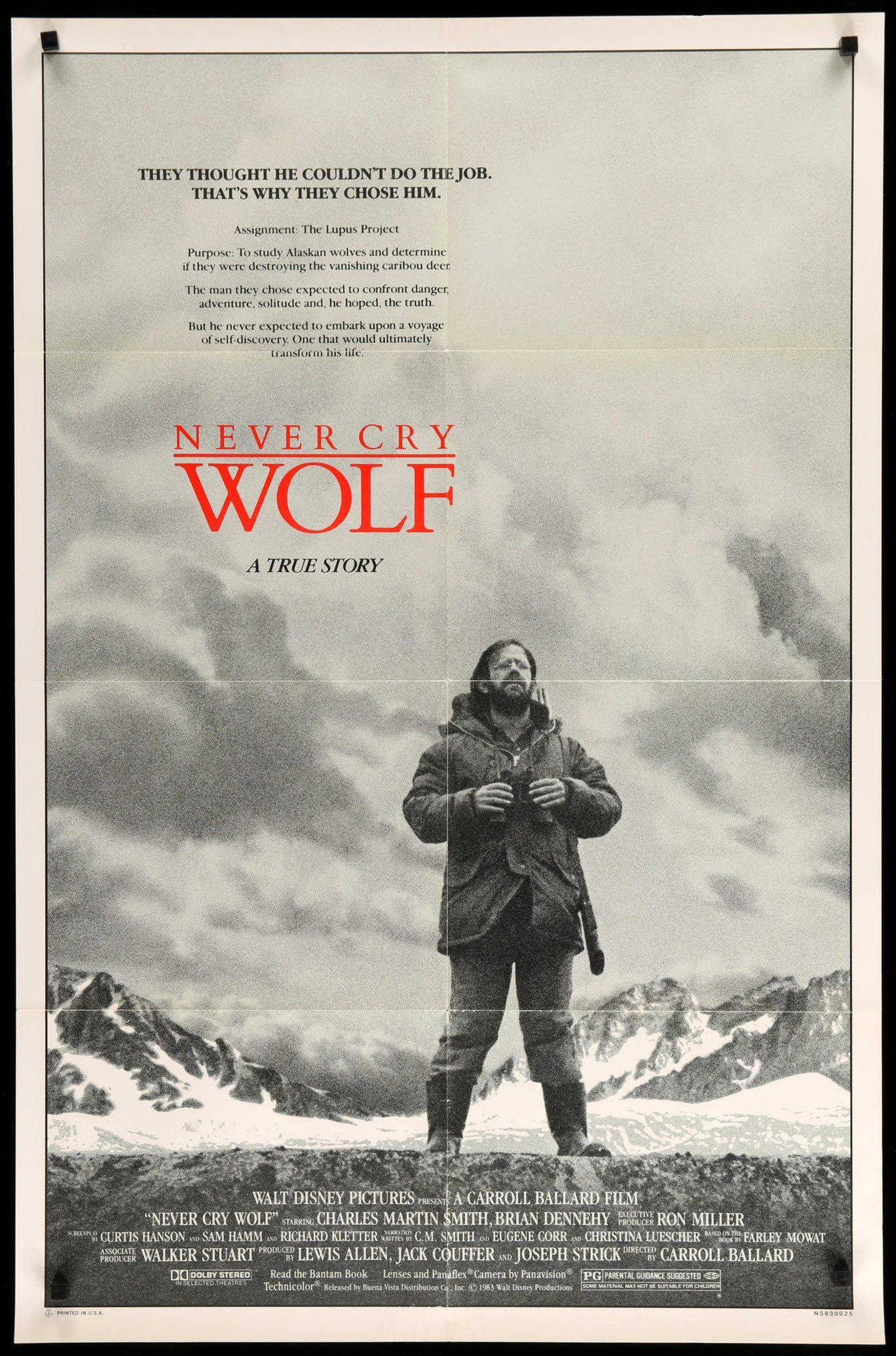 never cry wolf movie review