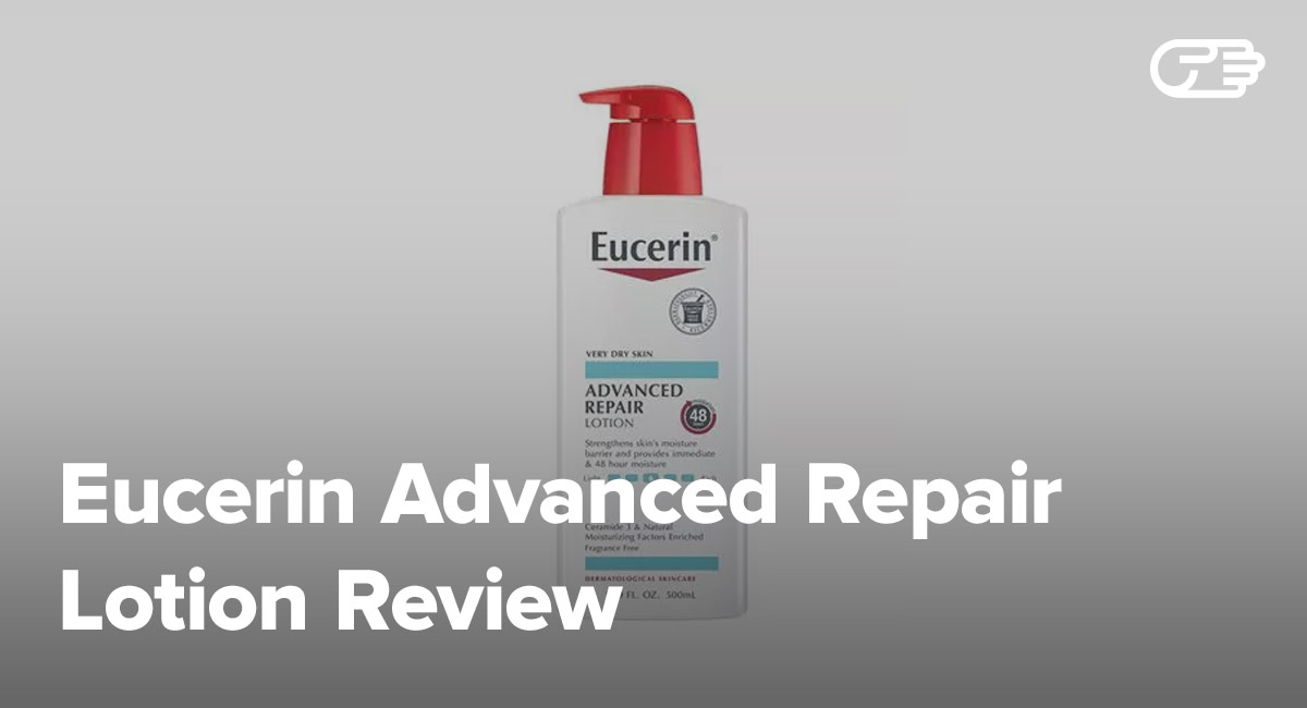 eucerin advanced repair lotion review