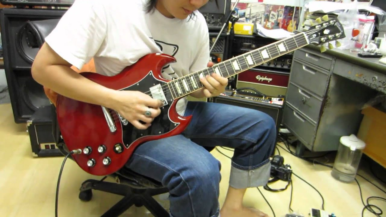 2011 gibson sg standard review