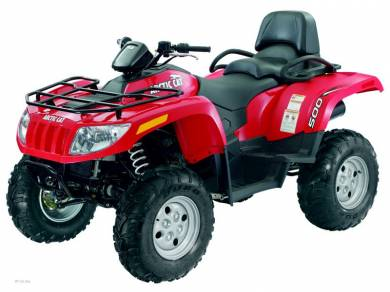arctic cat trv 500 review