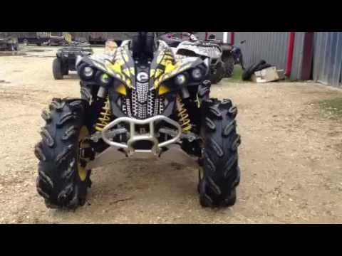 can am renegade 800 review