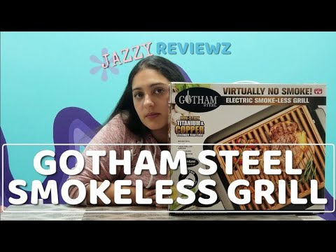 gotham steel electric smokeless grill reviews