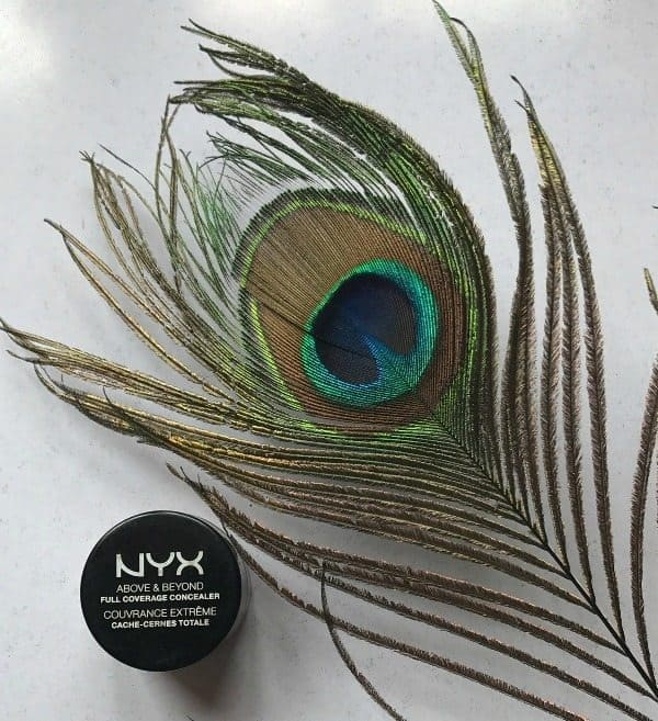 nyx above and beyond concealer review