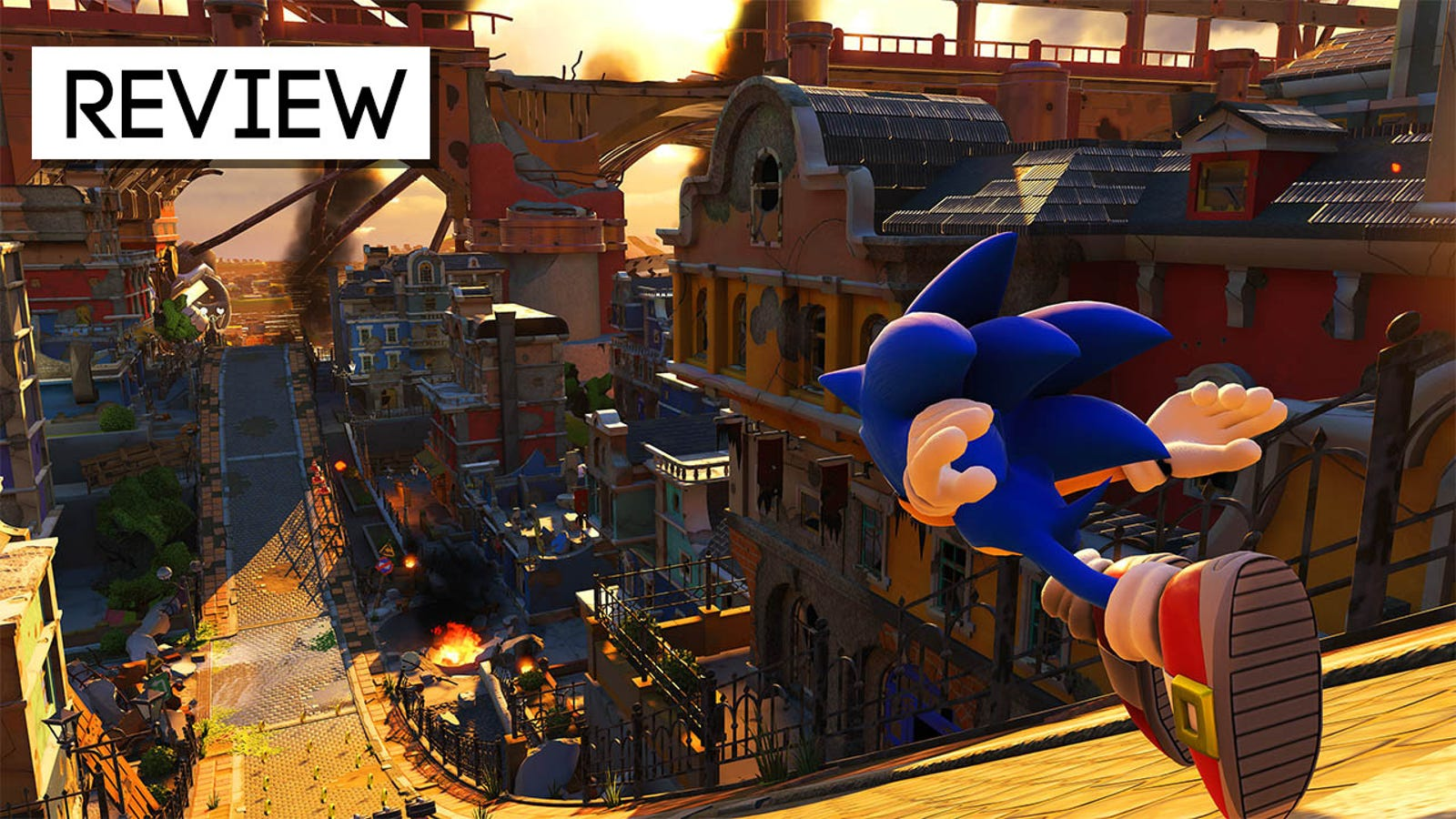 sonic forces xbox one review