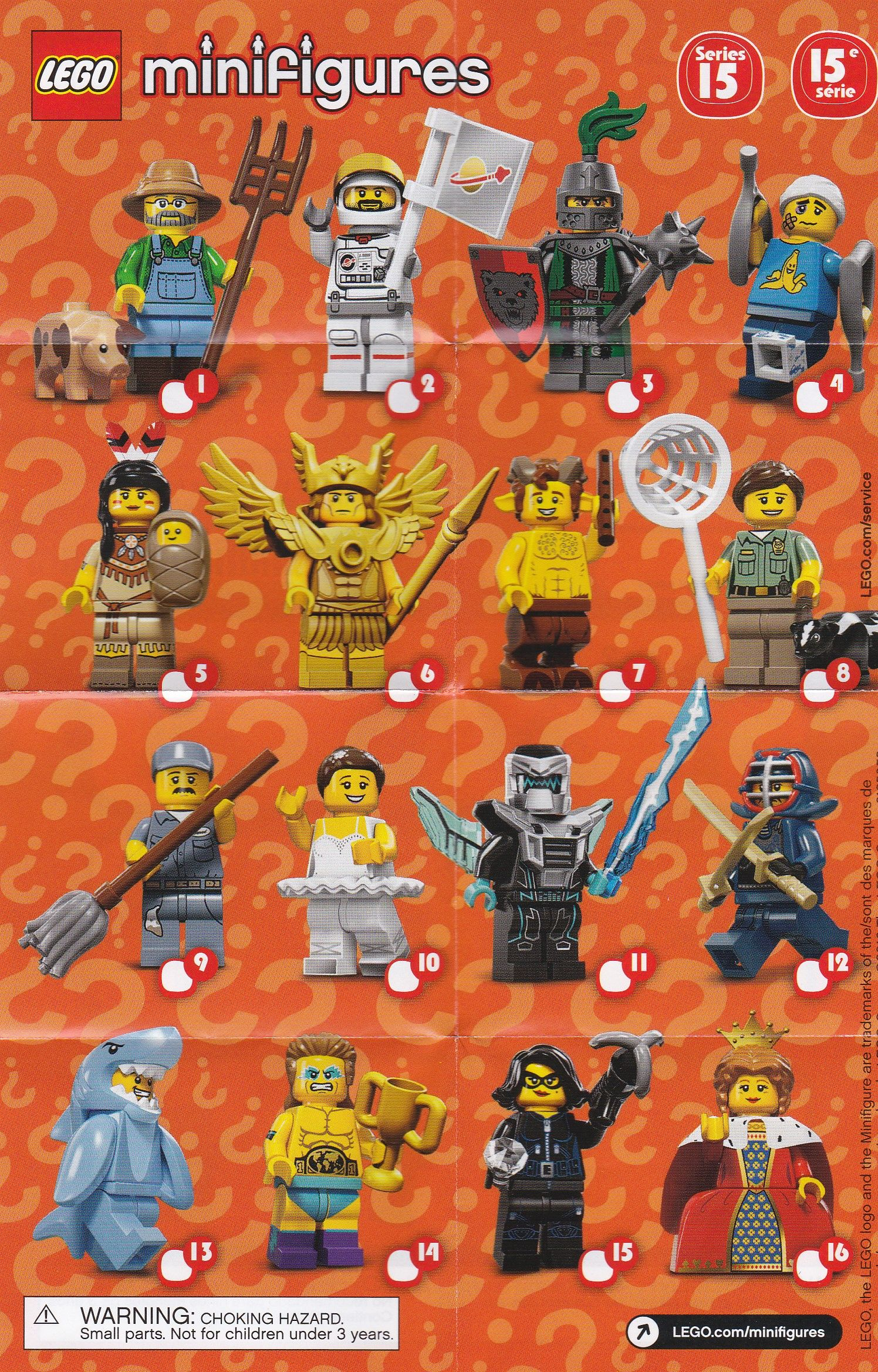 lego minifigures series 4 review