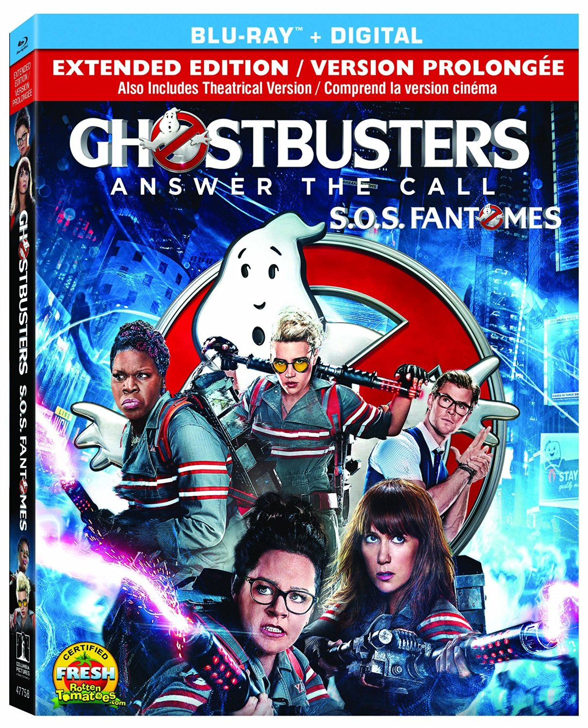 ghostbusters 3d blu ray review