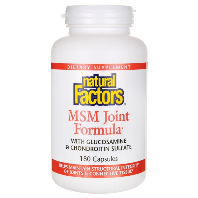 natural factors msm joint formula reviews