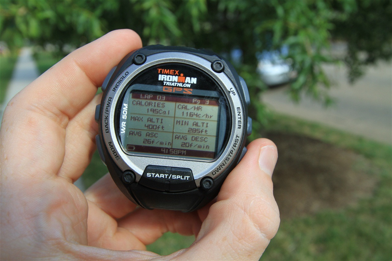 timex easy trainer gps review